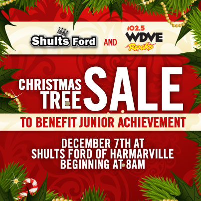Shults Ford Christmas Tree Sale