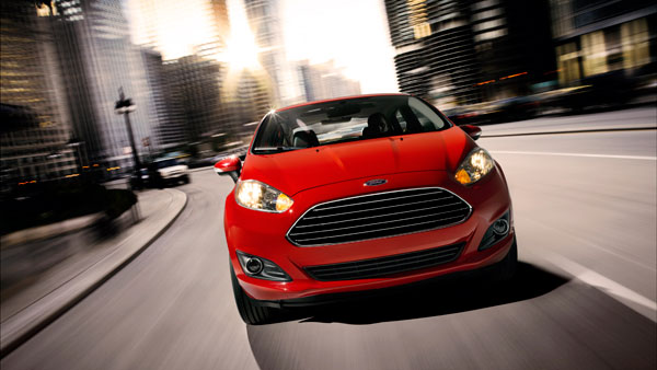 tiny and affordable 2014 Ford Fiesta