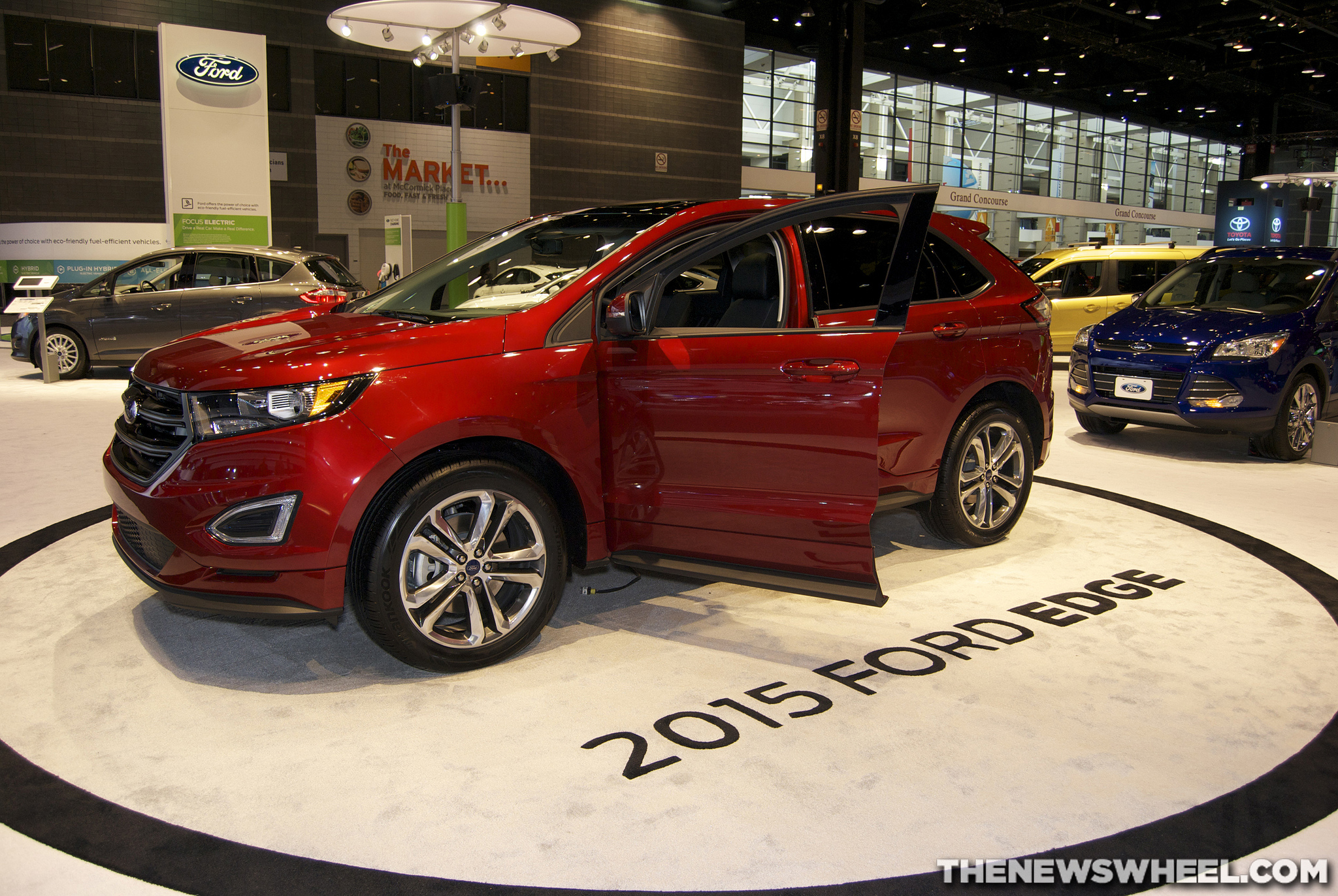 2015 Ford Edge production