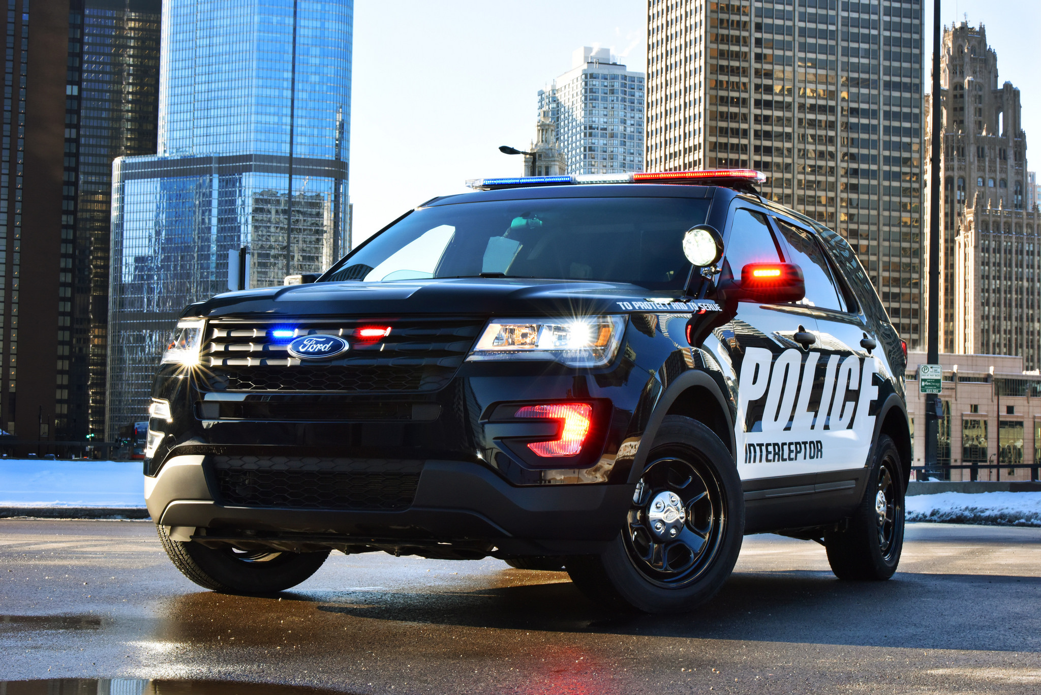 Ford Improving Police Vehicles