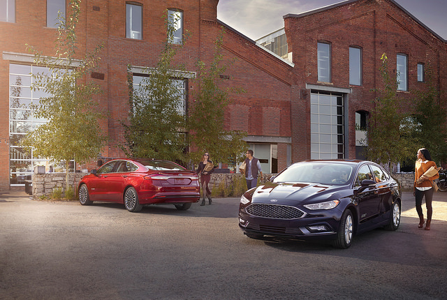 Self-driving food delivery platform - 2018 Ford Fusion Hybrid